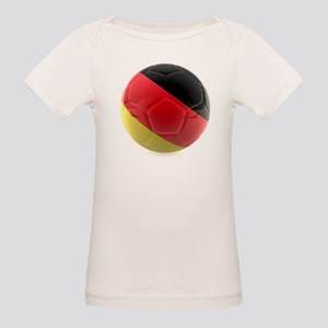 Germany World Cup Ball Organic Baby T-Shirt