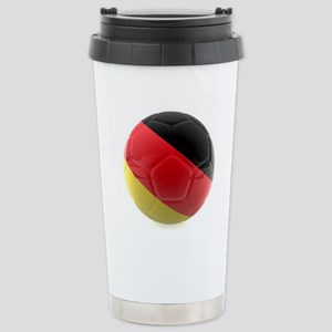Germany World Cup Ball Stainless Steel Travel Mug