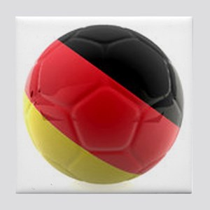 Germany World Cup Ball Tile Coaster