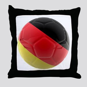 Germany World Cup Ball Throw Pillow