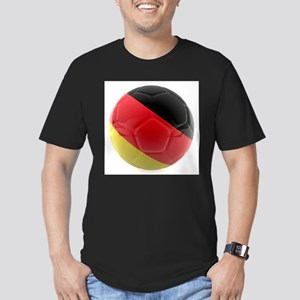 Germany World Cup Ball Men's Fitted T-Shirt (dark)