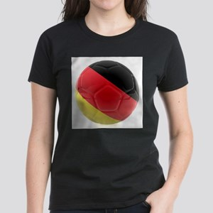 Germany World Cup Ball Women's Dark T-Shirt