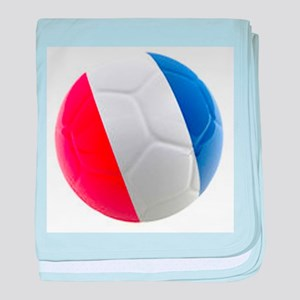 France World Cup Ball baby blanket