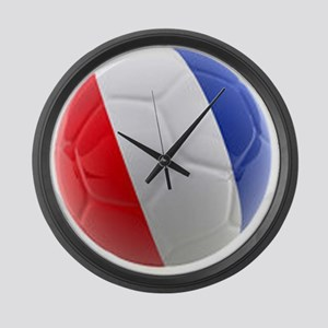 France World Cup Ball Large Wall Clock