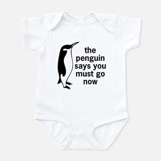 The Penguin Says Infant Bodysuit