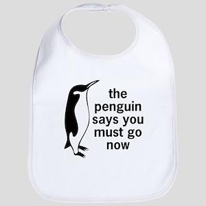 The Penguin Says Bib
