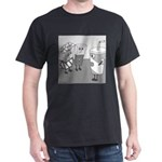 Let's All Go To the Lobby (No Text) Dark T-Shirt