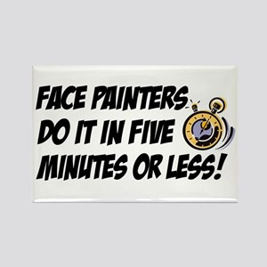 """Face Painters"" Rectangle Magnet"