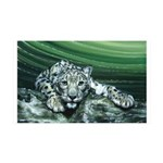 Snow Leopard 38.5 x 24.5 Wall Peel