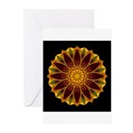 Marigold V Greeting Cards (Pk of 10)
