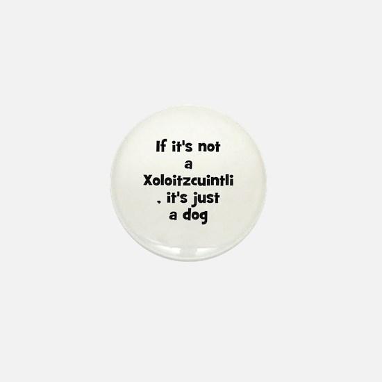 If it's not a Xoloitzcuintli Mini Button