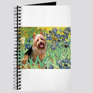 Irises & Aussie Terrier Journal