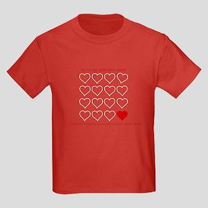 Congenital Heart Defect Kids Dark T-Shirt