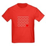 Chd awareness Kids T-shirts (Dark)