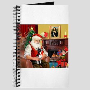 Santa's Boston Terrier Journal