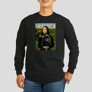 Mona / Bouvier Long Sleeve Dark T-Shirt