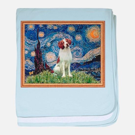 Starry Night/Brittany baby blanket