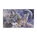 Coyote 38.5 x 24.5 Wall Peel