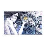 Mermaid 38.5 x 24.5 Wall Peel
