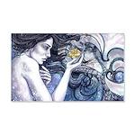 Mermaid 22x14 Wall Peel