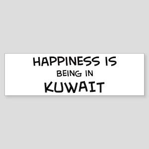 Happiness is Kuwait Bumper Sticker