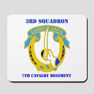 DUI - 3rd Sqdrn - 7th Cavalry Regt with Text Mouse