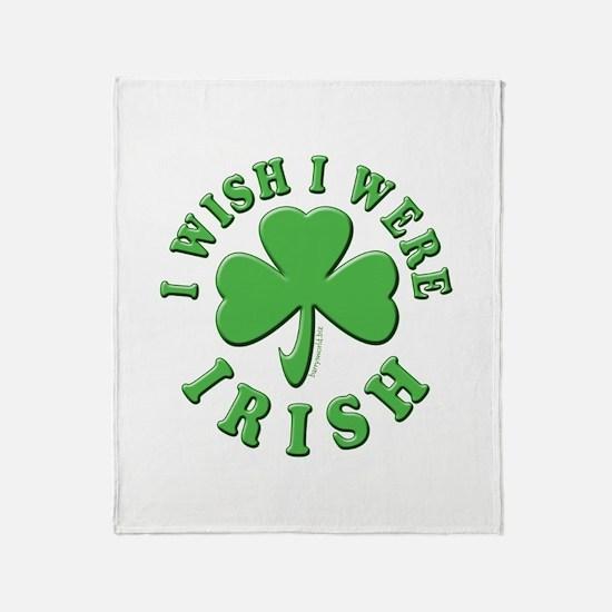 Irish Wish Throw Blanket