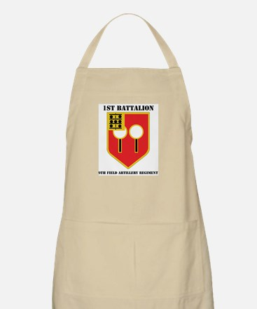 DUI - 1st Bn - 9th FA Regt with Text Apron