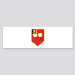 DUI - 1st Bn - 9th FA Regt Sticker (Bumper)