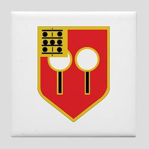 DUI - 1st Bn - 9th FA Regt Tile Coaster