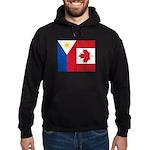 PI Flag & Canada Flag Hoodie (dark)