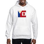 PI Flag & Canada Flag Hooded Sweatshirt