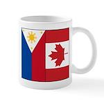 PI Flag & Canada Flag Mug