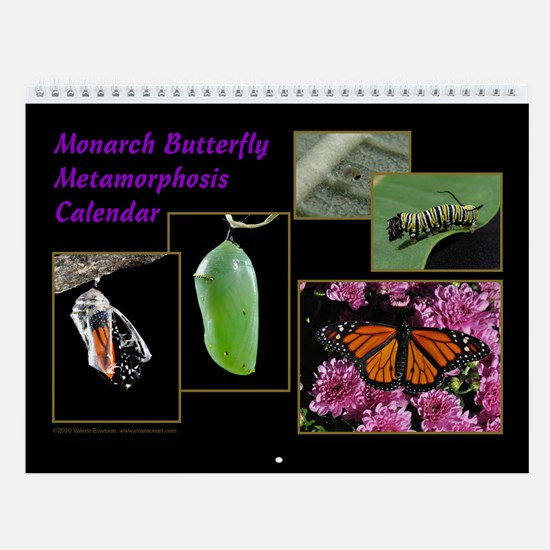 Monarch Metamorphosis Wall Calendar