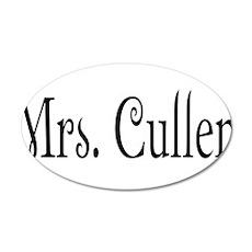 Mrs. Cullen 22x14 Oval Wall Peel