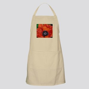 Red Oriental Poppy Apron