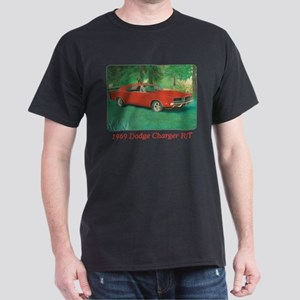 69 Red Charger Painting Dark T-Shirt