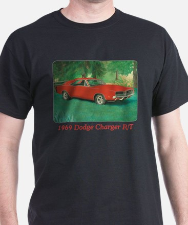 69 Red Charger Painting T-Shirt