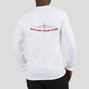 Outlaw Foam Flyer Long Sleeve T-Shirt