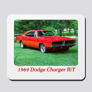 69 Red Charger Photo Mousepad