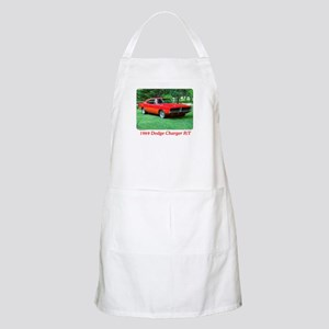 69 Red Charger Photo Apron
