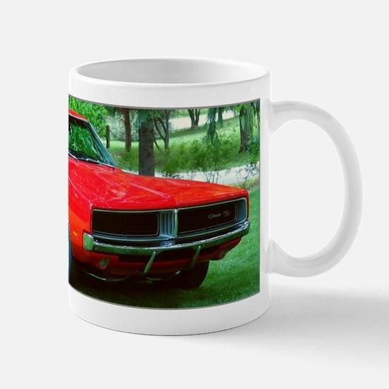 69 Red Charger Photo Mug