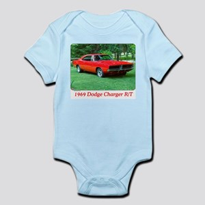 69 Red Charger Photo Infant Bodysuit