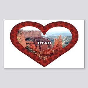 Utah: love Bryce Canyon 5 Sticker