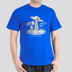 funny ironworker Dark T-Shirt