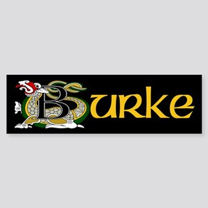Burke Celtic Dragon Sticker (Bumper)