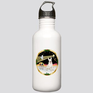 XmasDove/Bull Terrier Stainless Water Bottle 1.0L