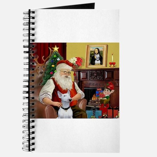 Santa's Bull Terrier Journal