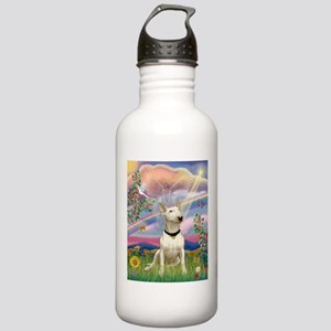 Cloud Angel/Bull Terrier Stainless Water Bottle 1.