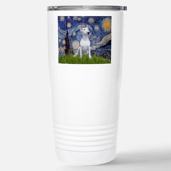 Starry Night/Bull Terrier Stainless Steel Travel M